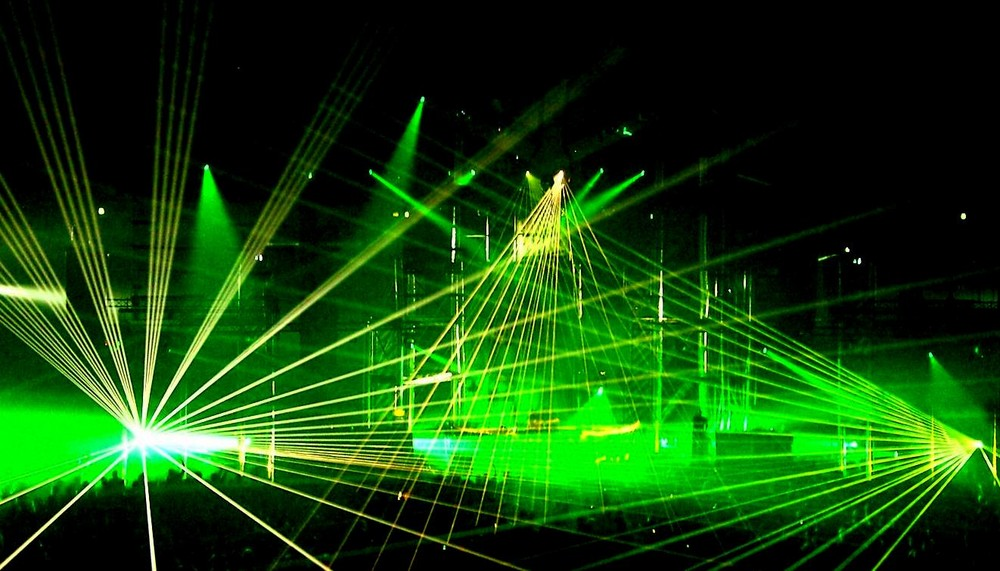 Lasershow @ Syndicate.