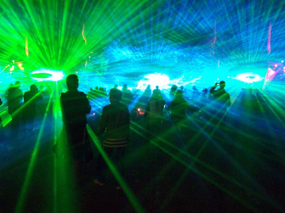 lasershow vuuv experience 2008 majnfloor