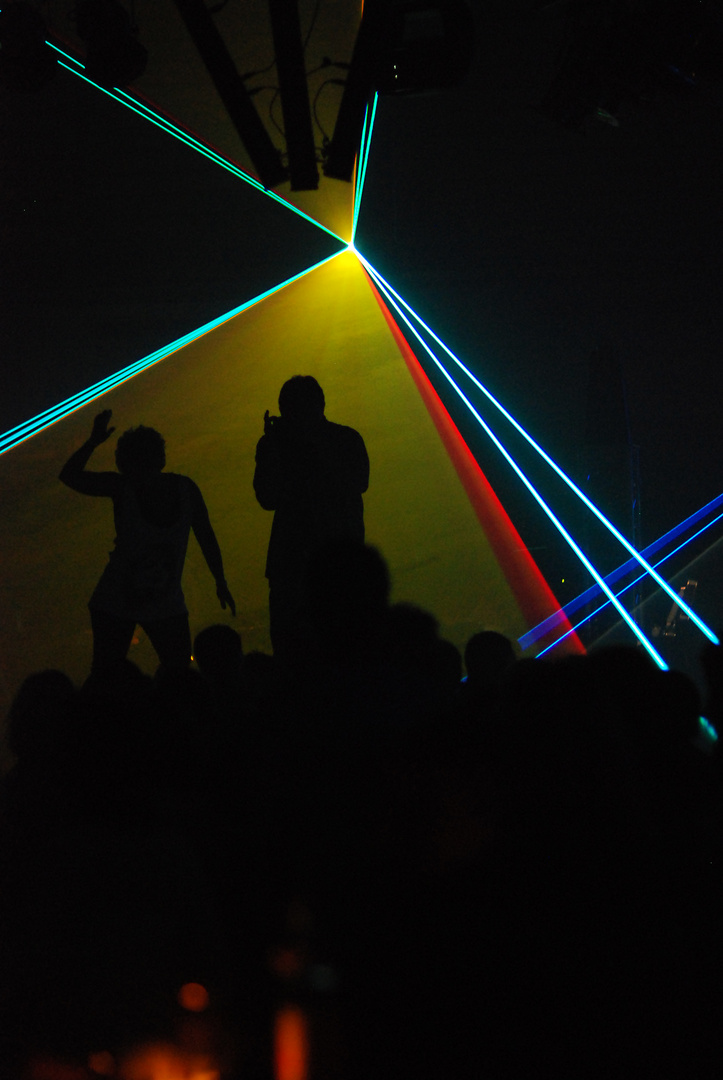 Lasershow Waldbronn 2010
