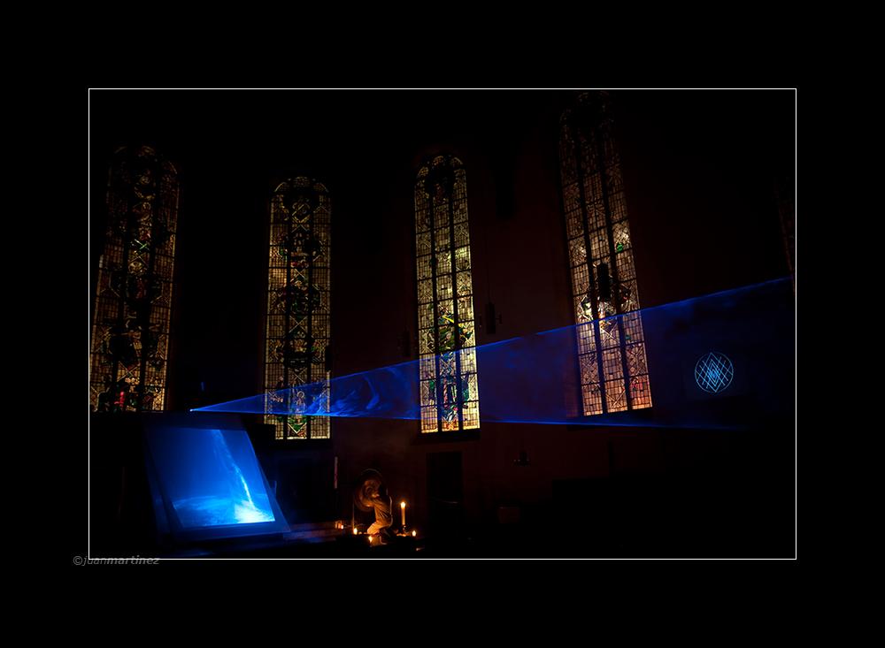 lasertunnel:::katharinenkirche