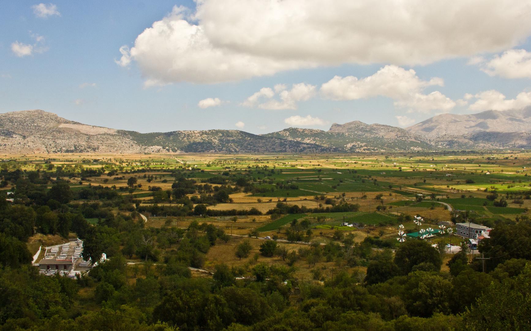 Lasithi Hochebene auf Kreta