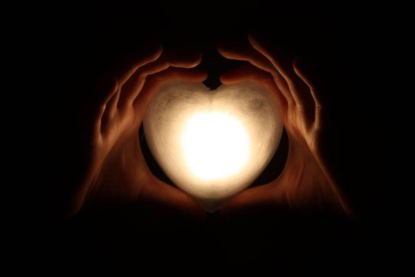 Lass Licht in dein Herz...