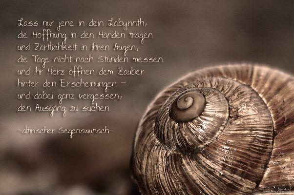 lass nur jene in dein Labyrinth ...