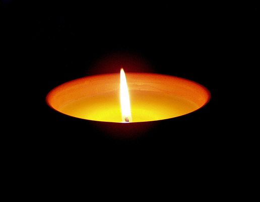 ... last candle before midnight
