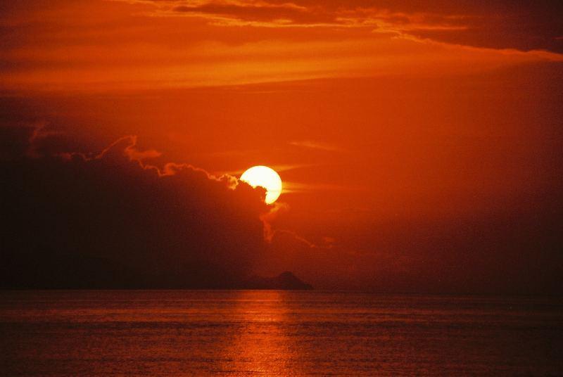 Last Sunset Ko Tao