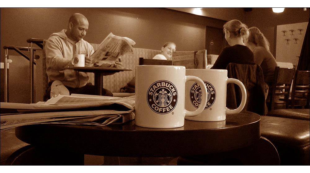 _-= | ® þ®þ.........last time at Starbucks (Cologne)