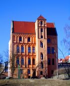 Late-Gothic building of Artistic School