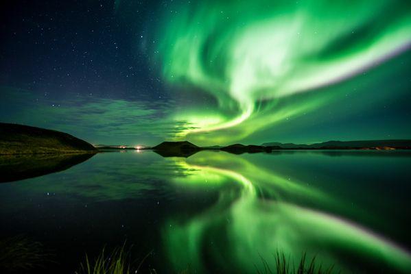 ~~ Late night show am See Mývatn ~~