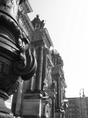 Laterne am Berliner Dom