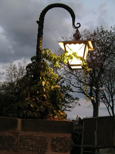 Laterne auf der Wartburg