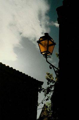 Laterne in Les Baux de Provence