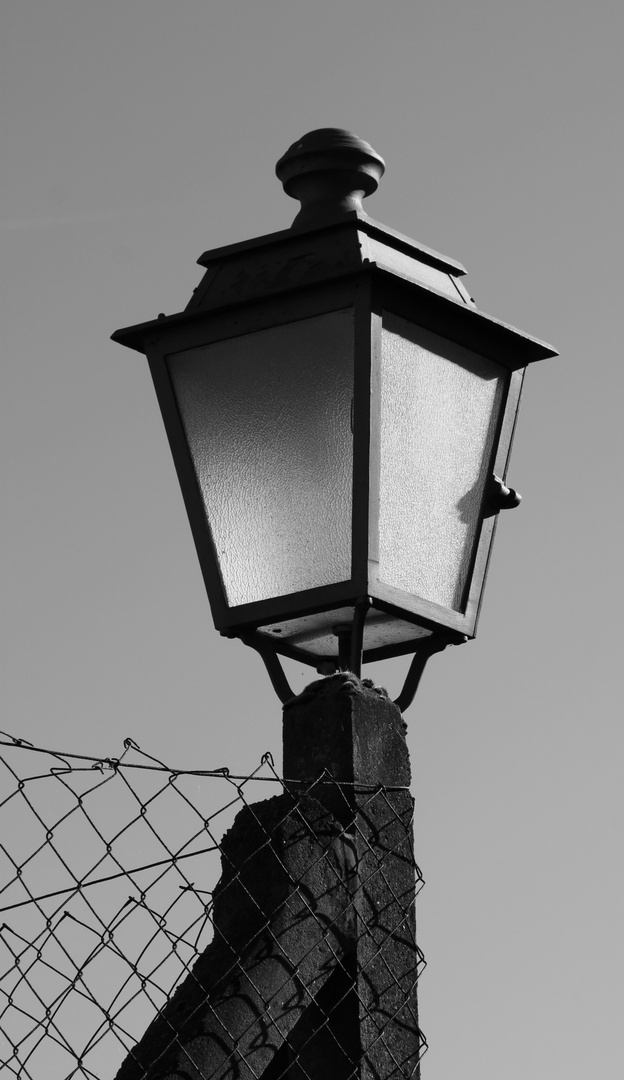 Laterne, Laterne oder das Licht ist aus