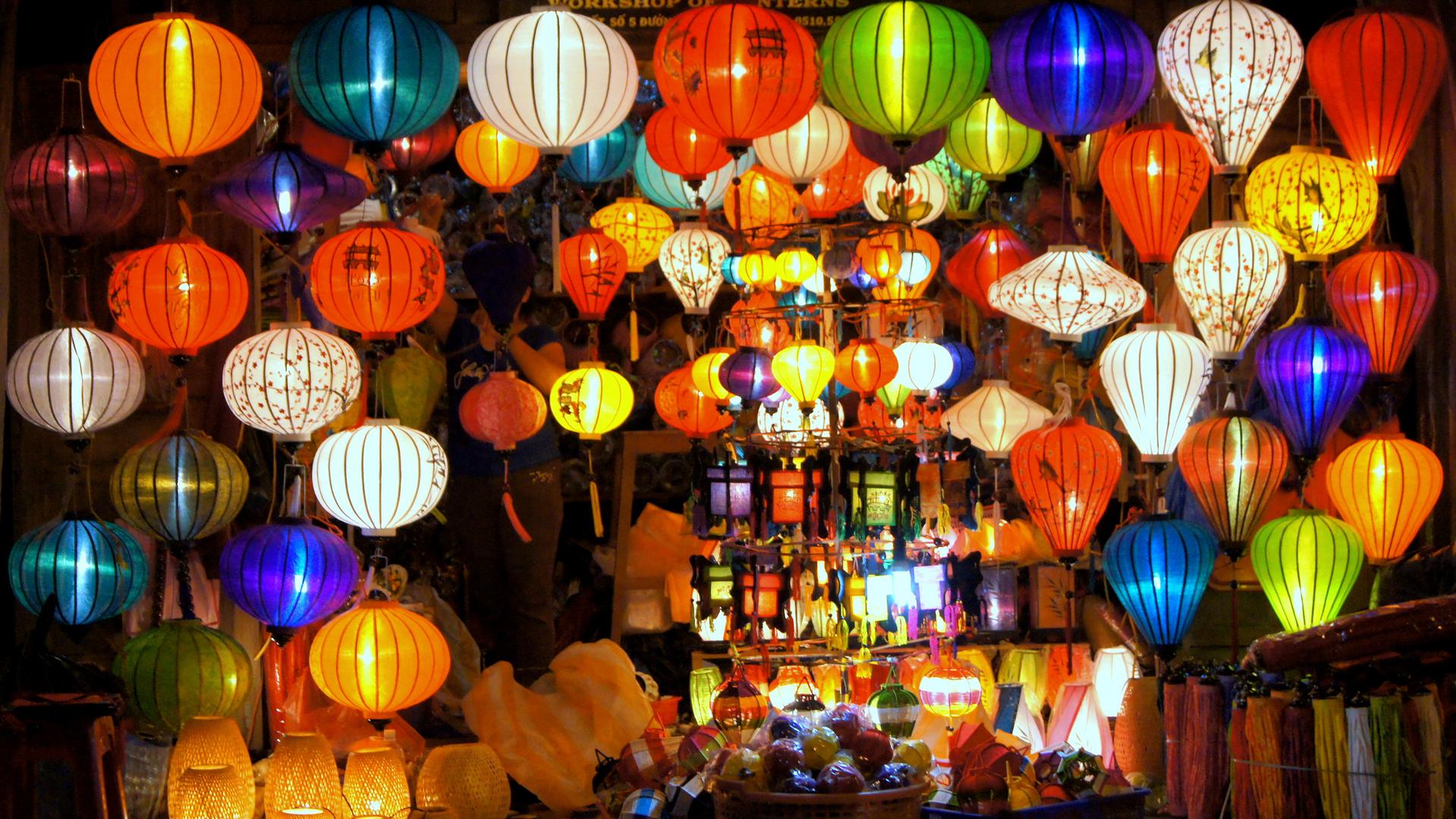 Laternen in Vietnam