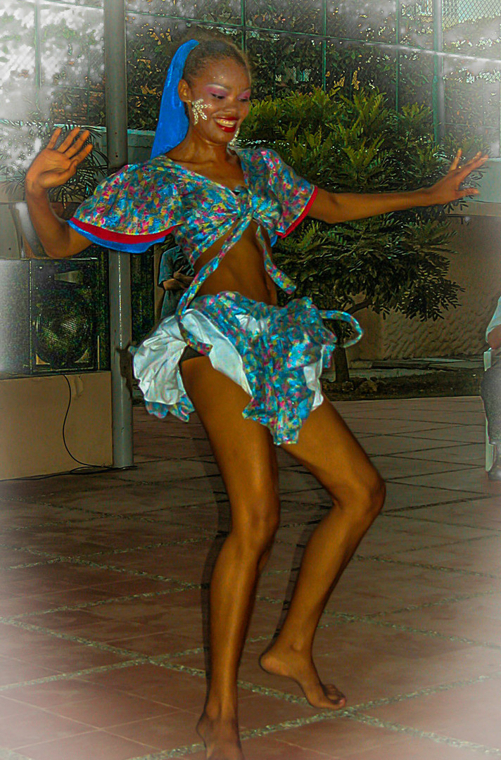 Latino-Tänzerin