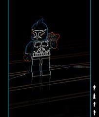 L'attaque du clone Lego trooper