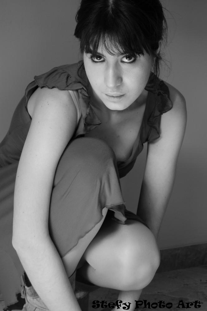 L'attrice....