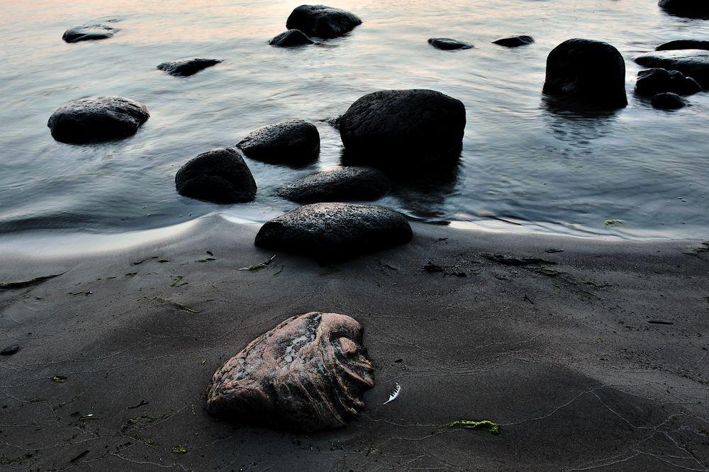 Latvian stone mystery (before the sun rises)
