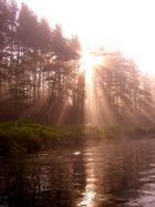 L'Aube, entre lac et forêt, Canada