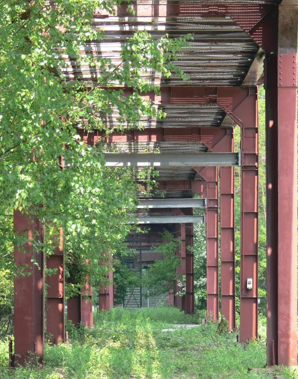 Laubengang auf Zollverein