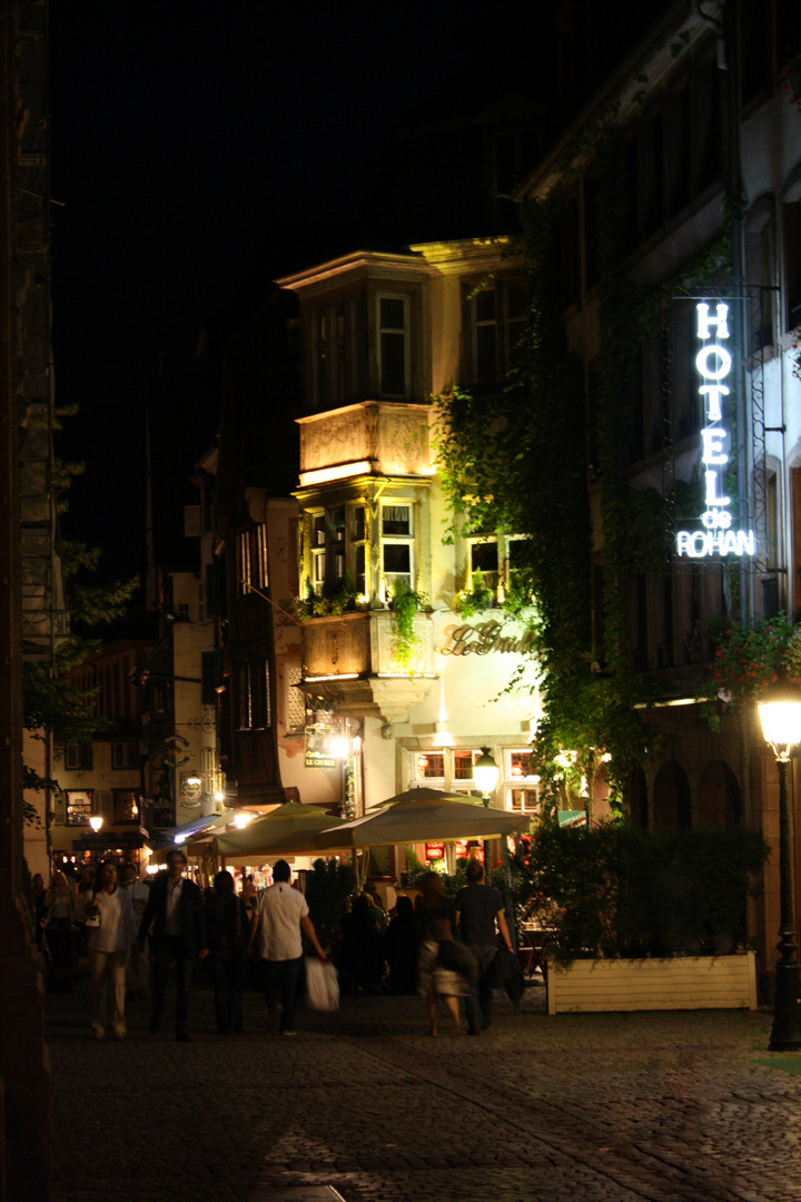 Laue Sommernacht in der Altstadt ...