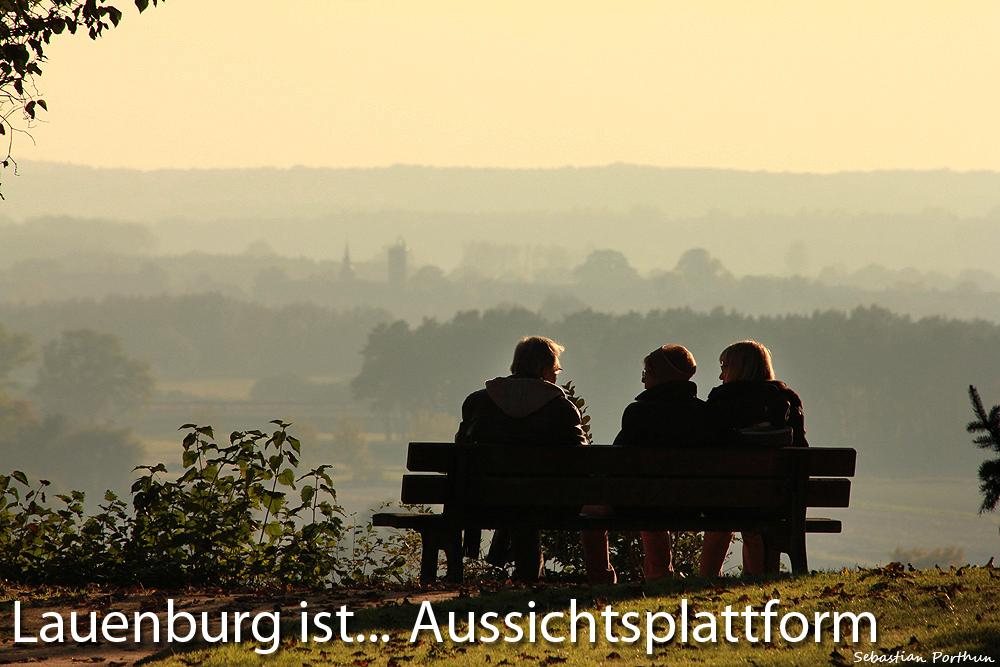 Lauenburg ist Aussichtsplattform