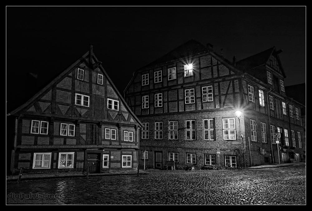 Lauenburger Altstadt @ Night