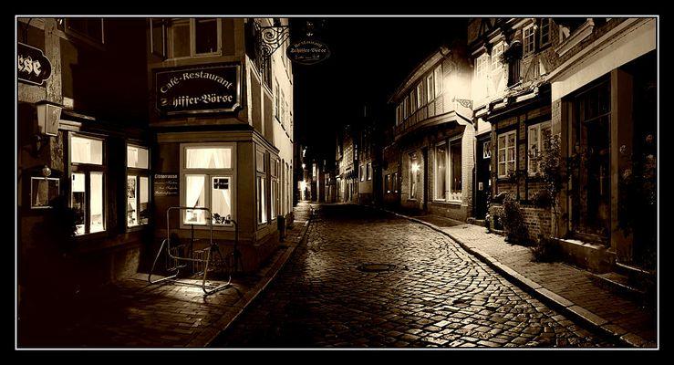 Lauenburger Altstadt@night II