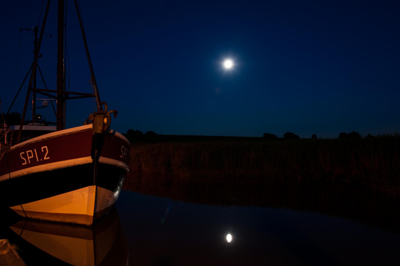 Lauer Abend and der Nordsee