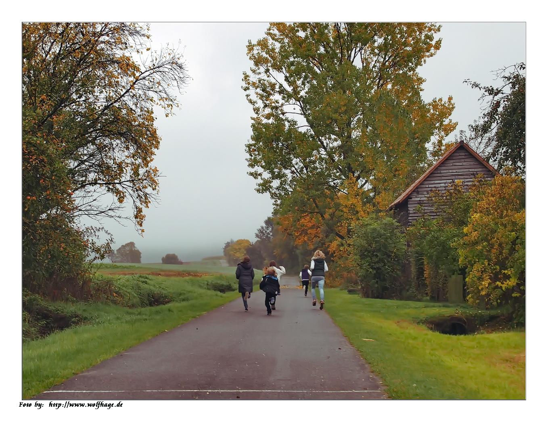 Lauft Kinder - der Herbst kommt !