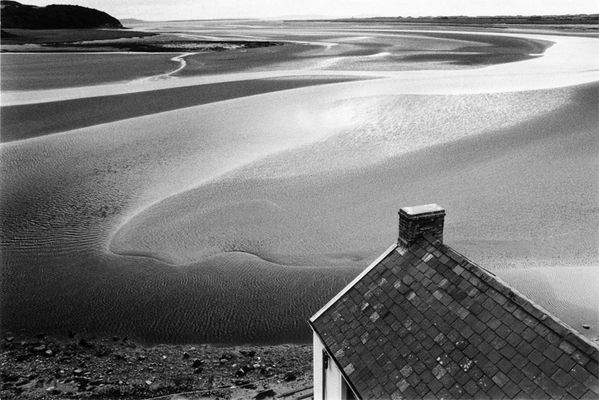 Laugharne, Wales, Sommer 1984