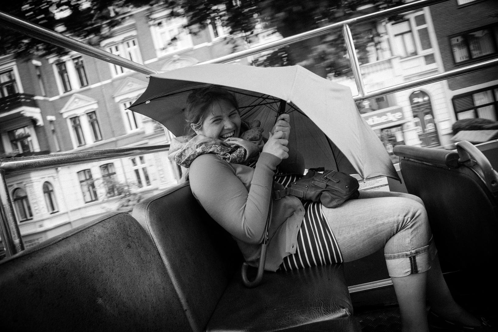 Laughin' in the rain