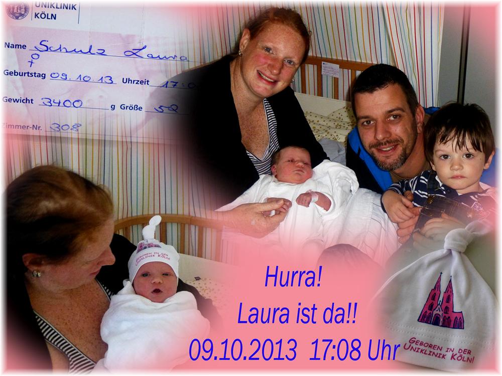 Laura ist da!