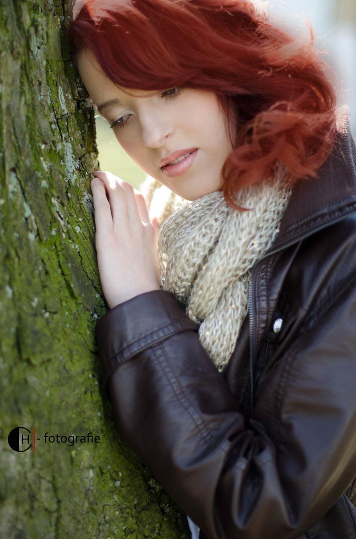 Laura und der Baum :)