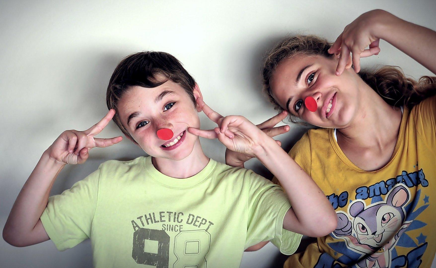Laura y Xavi, mis payasetes