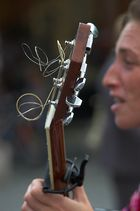 Lauras Gitarre