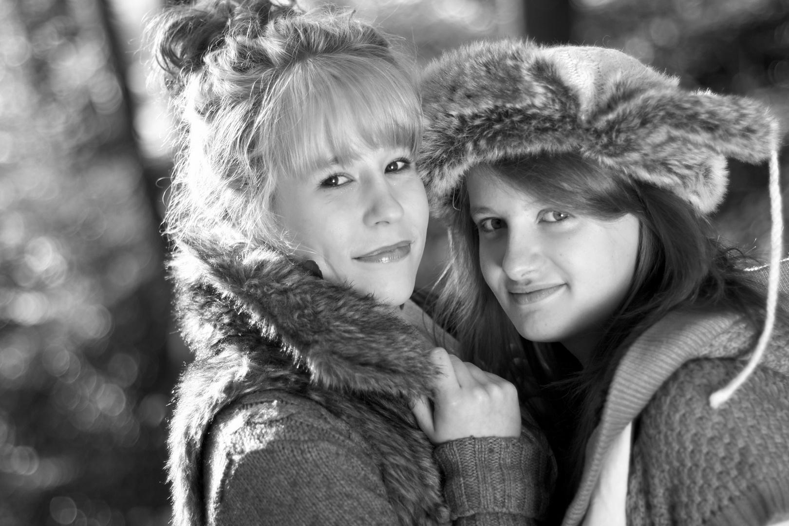 Laureen und Emilia