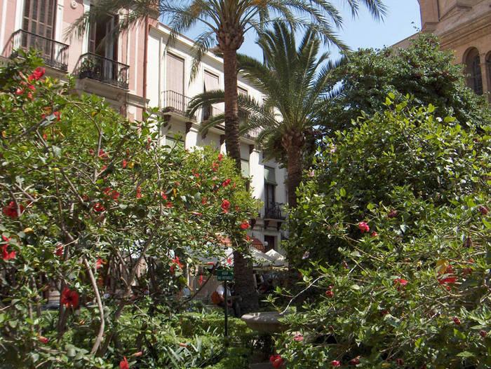 Lauschiges Plätzchen in Malaga