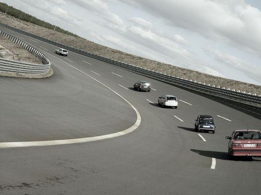Lausitzring bei 130 km/h