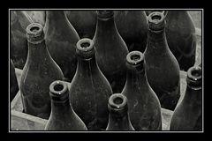 Lauter Flaschen ...