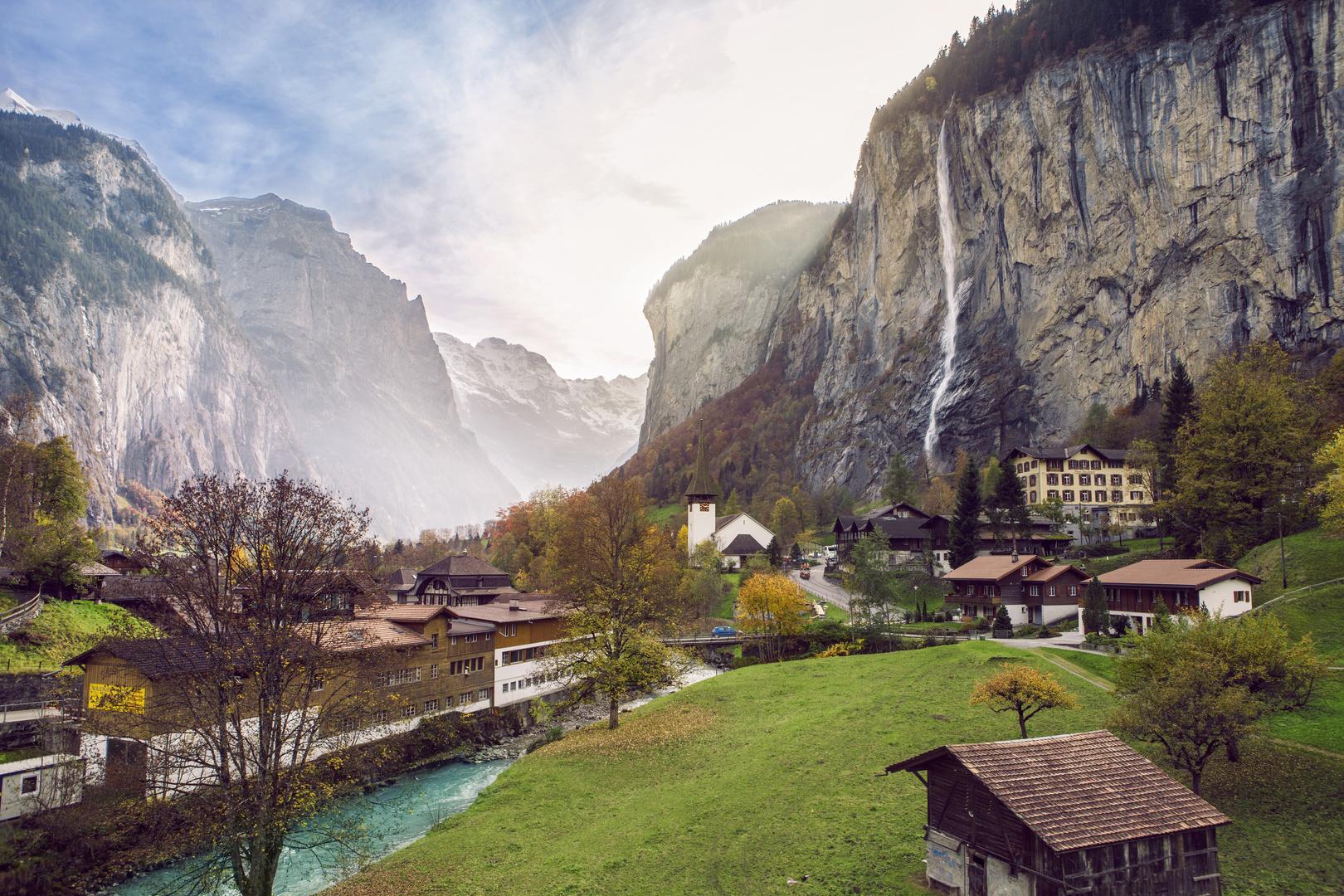 Lauterbrunnen in die Schweiz
