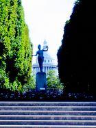 l'auteur Grec - Jardin du Luxembourg, Panthéon, Paris