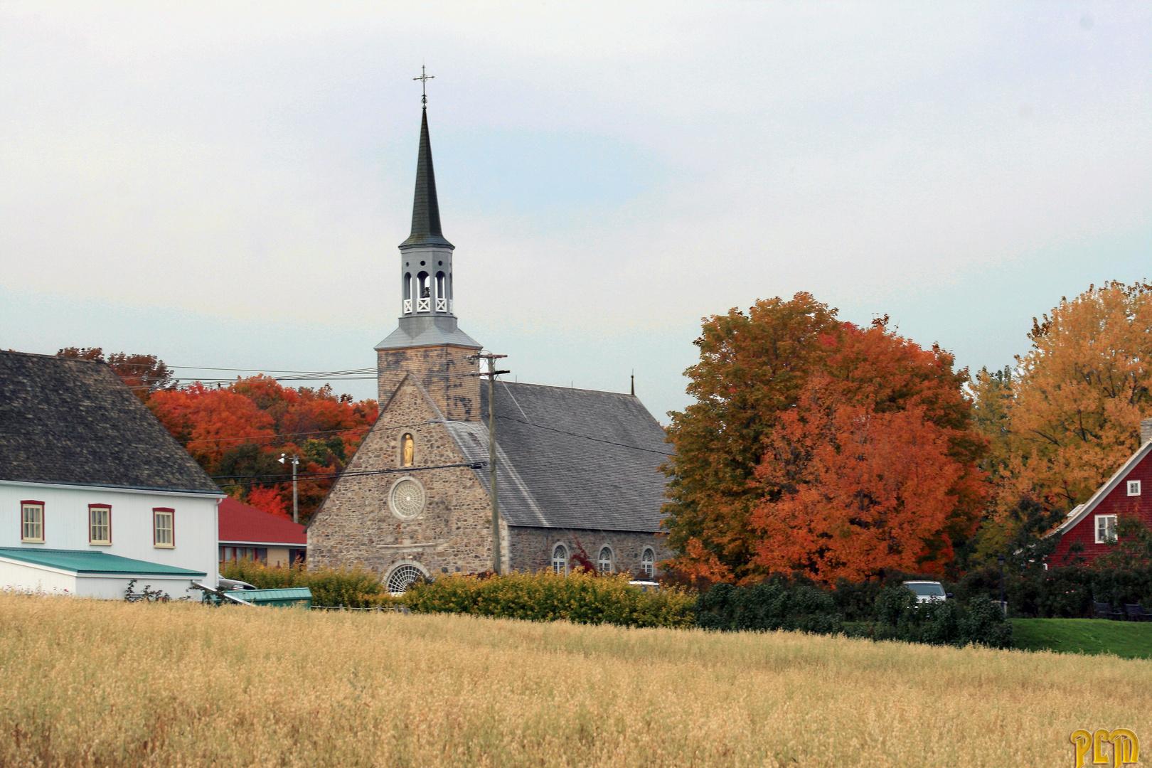 L'automne à l'Ile d'Orléans - Québec oct. 2009