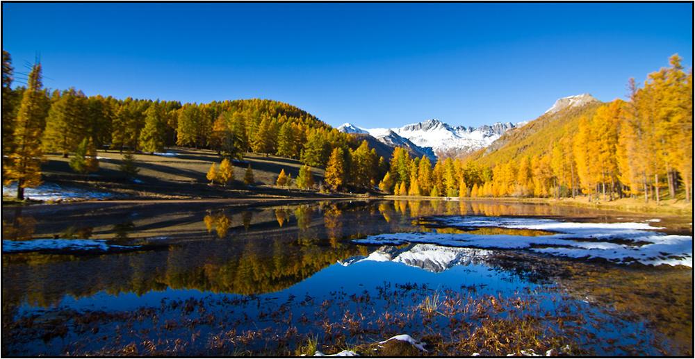L'automne dans le Queyras