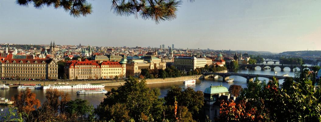 L'automne de Prague