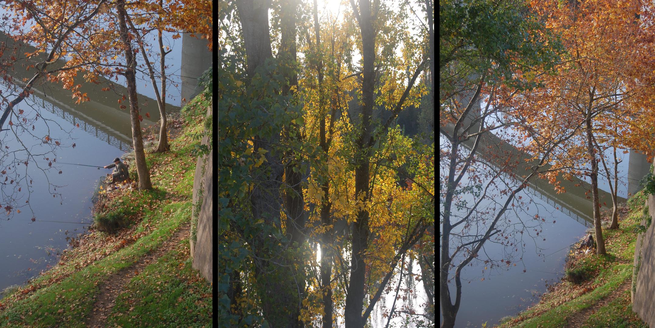 L'automne en tryptique