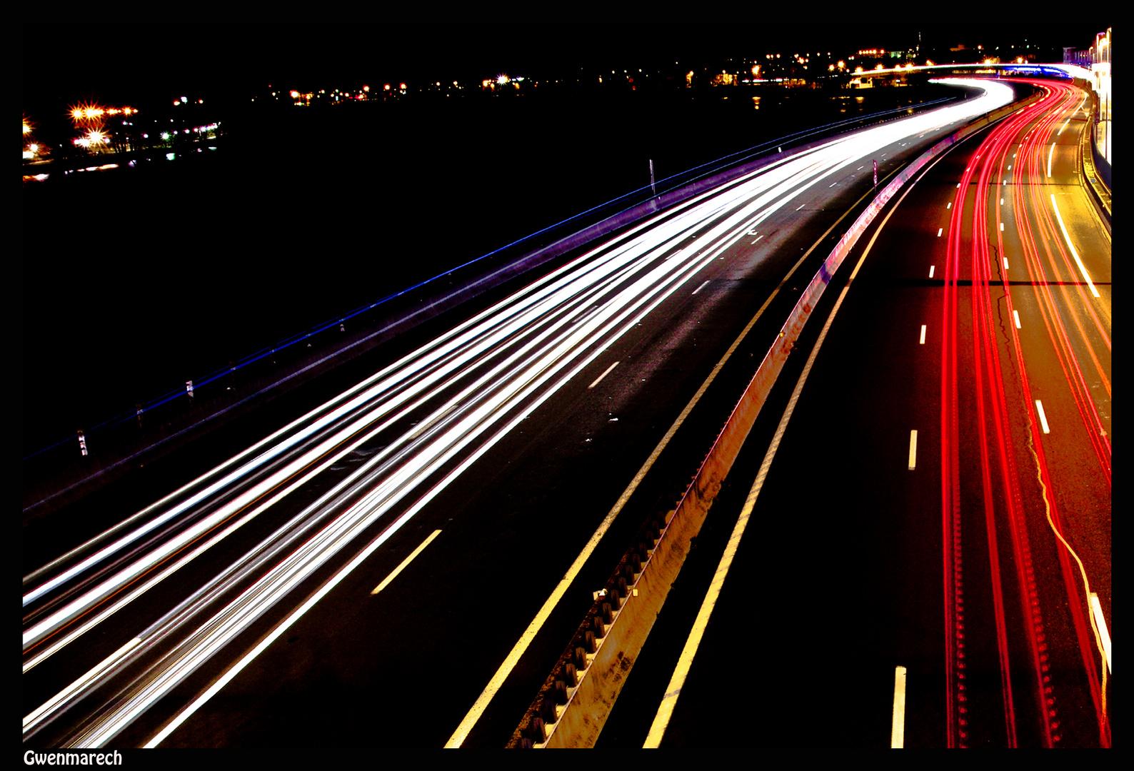 l'autoroute........