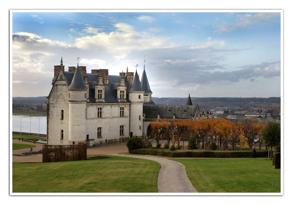 L'autre face du chateau d'Amboise