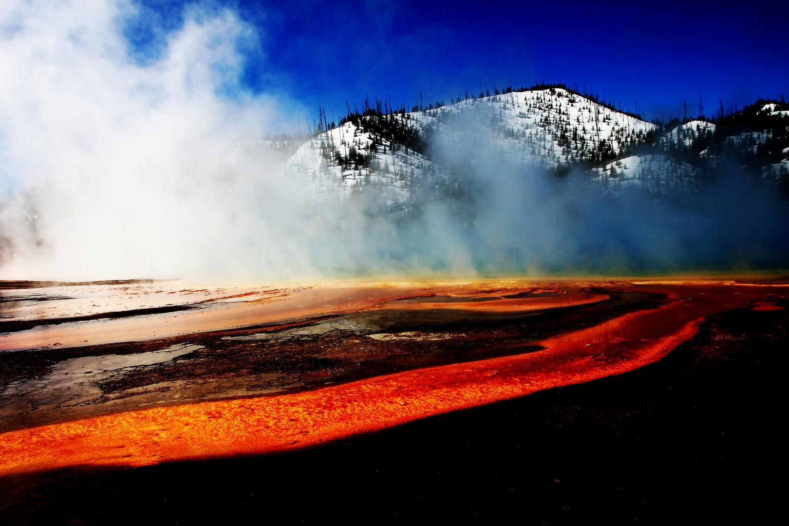 Lava im Yellowstone 2