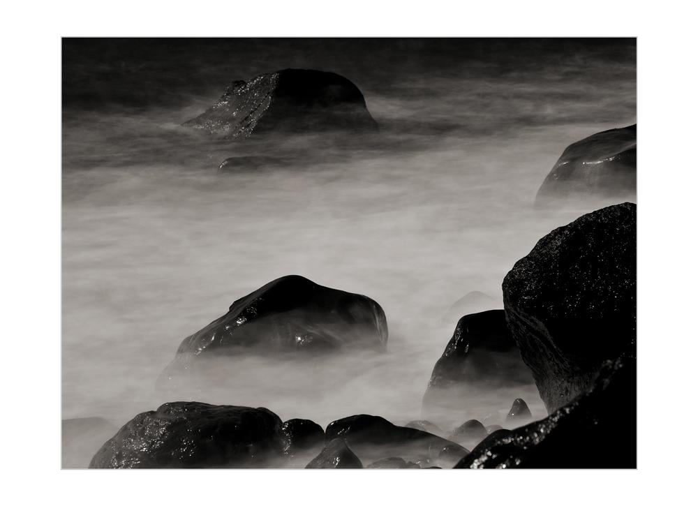 Lava stone washed