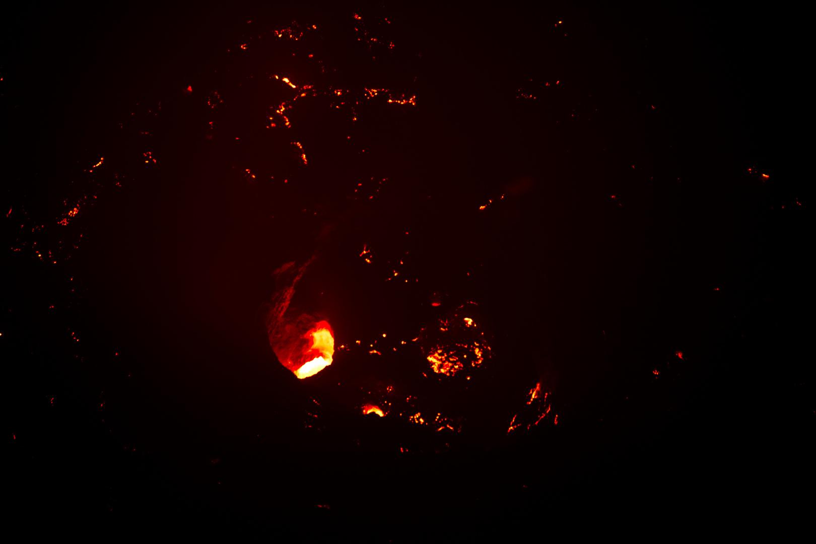 Lava Telica-Vulkan, Nicaragua
